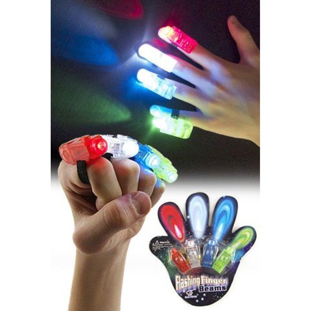 Laser Finger Beams - светящийся набор на пальцы