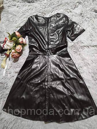 Платье женское эко кожа, фото 2