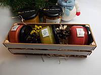 Подарочный набор №2 из 3 баночек меда по 100мл