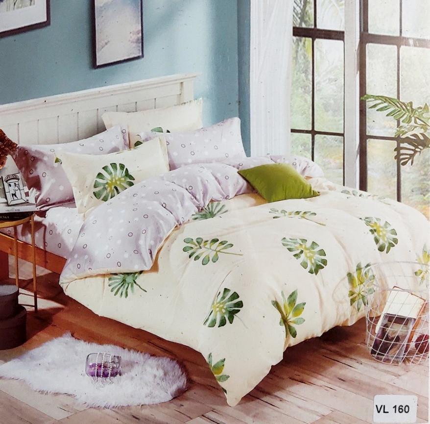 Комплект постельного белья микровелюр Vie Nouvelle Velour 200х220  VL160 Евро