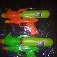 Бластер, водный пистолет 25см 2 цвета