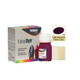 Краска для кожи TRG Easy Dye, 25 мл 102 Dark Lilac (Темно-фиолетовый)
