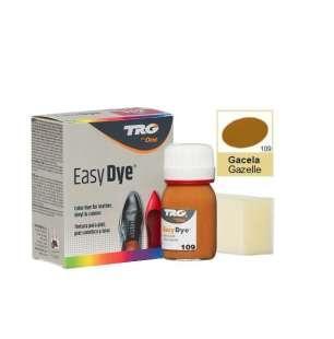 Краска для кожи TRG Easy Dye, 25 мл 109 Gazelle (Янтарно-коричневый)