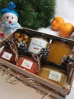 Подарочный набор №4 из 6 баночек меда