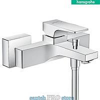 Смеситель для ванны HANSGROHE Metropol, однорычажный, хром.