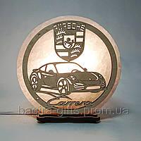 Соляна лампа кругла Porsche