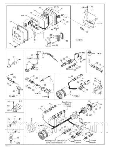 Болт M5X12 Sea-Doo BRP Phillips screw M5X12
