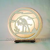 Соляна лампа кругла Джаз