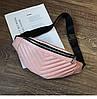 Бананка женская розовая прошита, фото 7