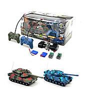 Танковый Бой333-TK11, аккум, танк 2шт 20см, пульт 2шт, звук, свет