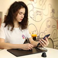 АКЦИЯ.НОВИНКА.Графический планшет HUION HS610 С Поддержкой Android + перчатка