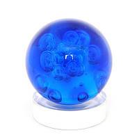 Шар 5 элементов на подставке,синий