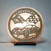 Соляная лампа круглая Chevrolet