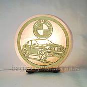 Соляная лампа круглая BMW