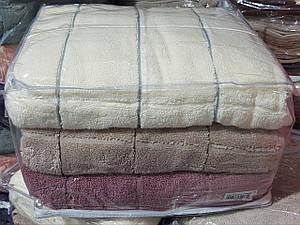 Полотенца сауна махровые Micro Cotton «Cestepe Premium Kare»
