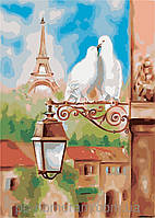 Картина по номерам Menglei MG2128 (КН2128) Весна в Париже 36 х 50 см