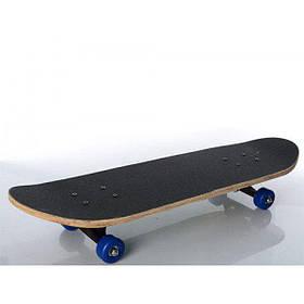 Скейт (скейтборд) детский деревянный для трюков ПВХ Profi (MS 0354-3)