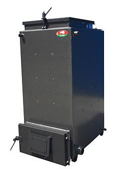 Твердотопливный шахтный котел Zubr 10 кВт