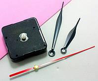 (1 шт) Часовой механизм 55х55 со стрелками  с  с плавн ходом (сп7нг-3634)