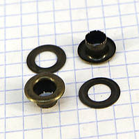 Люверс 6 мм антик a3818 (1000 шт.)
