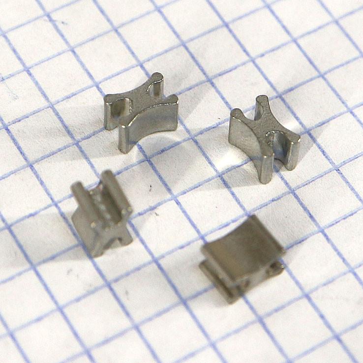 Ограничитель для металлической молнии X Т5 нижний (упаковка 50гр примерно 105 штук) a6111