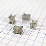 Ограничитель для металлической молнии X Т5 нижний (упаковка 50гр примерно 105 штук) a6111, фото 2