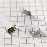 Ограничитель для спиральной молнии Т5 нижний (упаковка 50гр примерно 360 штук) a6108, фото 2