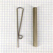 Прижим для денег 80 мм никель a5562 (10 шт.)