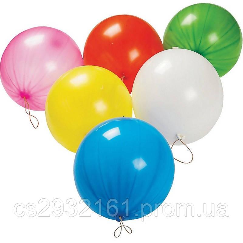 """Воздушные шарики """"Панч-бол ассорти  MAXI  18""""  100 шт."""