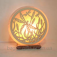 Соляна лампа кругла Бабки