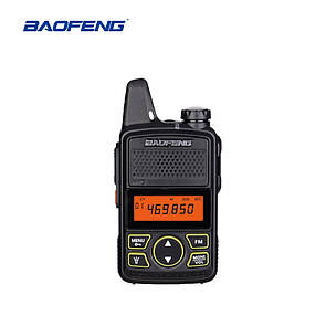 Рация Baofeng BF-T1. Ультракомпактная переносная, портативная радиостанция. Портативна рація 400-470 МГц