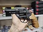 Револьвер под патрон Флобера Латэк Сафари РФ-431М (Бук), фото 2