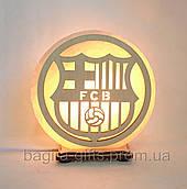Соляна лампа кругла Барселона
