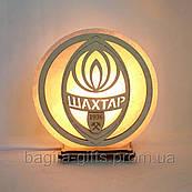 Соляна лампа кругла Шахтар