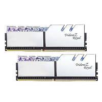 Оперативная память G.Skill DDR4 16GB (2x8GB) 3000MHz Trident Z RGB Royal Silver (F4-3000C16D-16GTRS)
