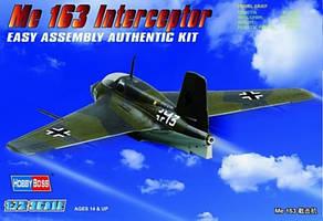 Me-163B-1a Komet. Сборная модель самолета. 1/72 HOBBY BOSS 80238