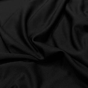 """Трикотаж футболочный """"сітка спорт"""" чорний"""