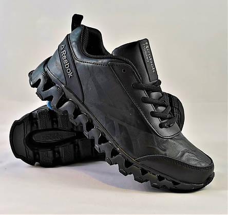 Кроссовки Reebok Zignano Чёрные Мужские Рибок (размеры: 41) Видео Обзор, фото 2
