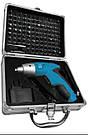 KRAISSMANN Акумуляторна викрутка 600 AS 3.6 (алюмінієвий кейс з набором насадок), фото 2