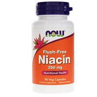 Вітамін NOW Foods Flush-Free Niacin 250 mg 90 VCaps