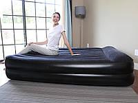 Надувная двухспальная кровать 203*163*48 см Bestway 67345 с эл. насосом 220V