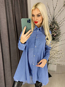 Блуза - рубашка / хлопок / Украина 44-0109