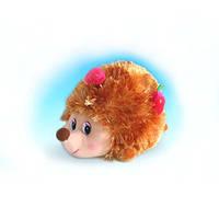 Мягкая игрушка - ЕЖИК С ЯГОДАМИ (муз., 18 см)