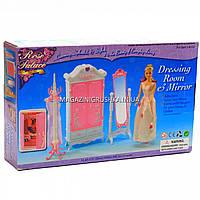 Детская игрушечная мебель Глория Gloria для кукол Барби Гардеробная 2609