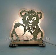 Соляной светильник Мишка большой