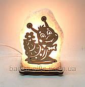 Соляний світильник Равлик маленька