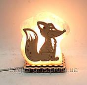 Соляний світильник Лисиця маленька 1