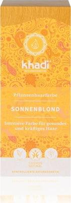 """Натуральная краска для волос, Хна для волос  """"Солнечный блонд"""" Khadi, 100 г"""