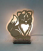 Соляний світильник великий Кіт
