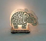 Соляний світильник маленький Слон